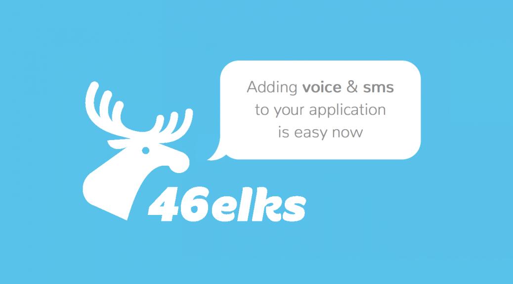 46elks voice och sms api
